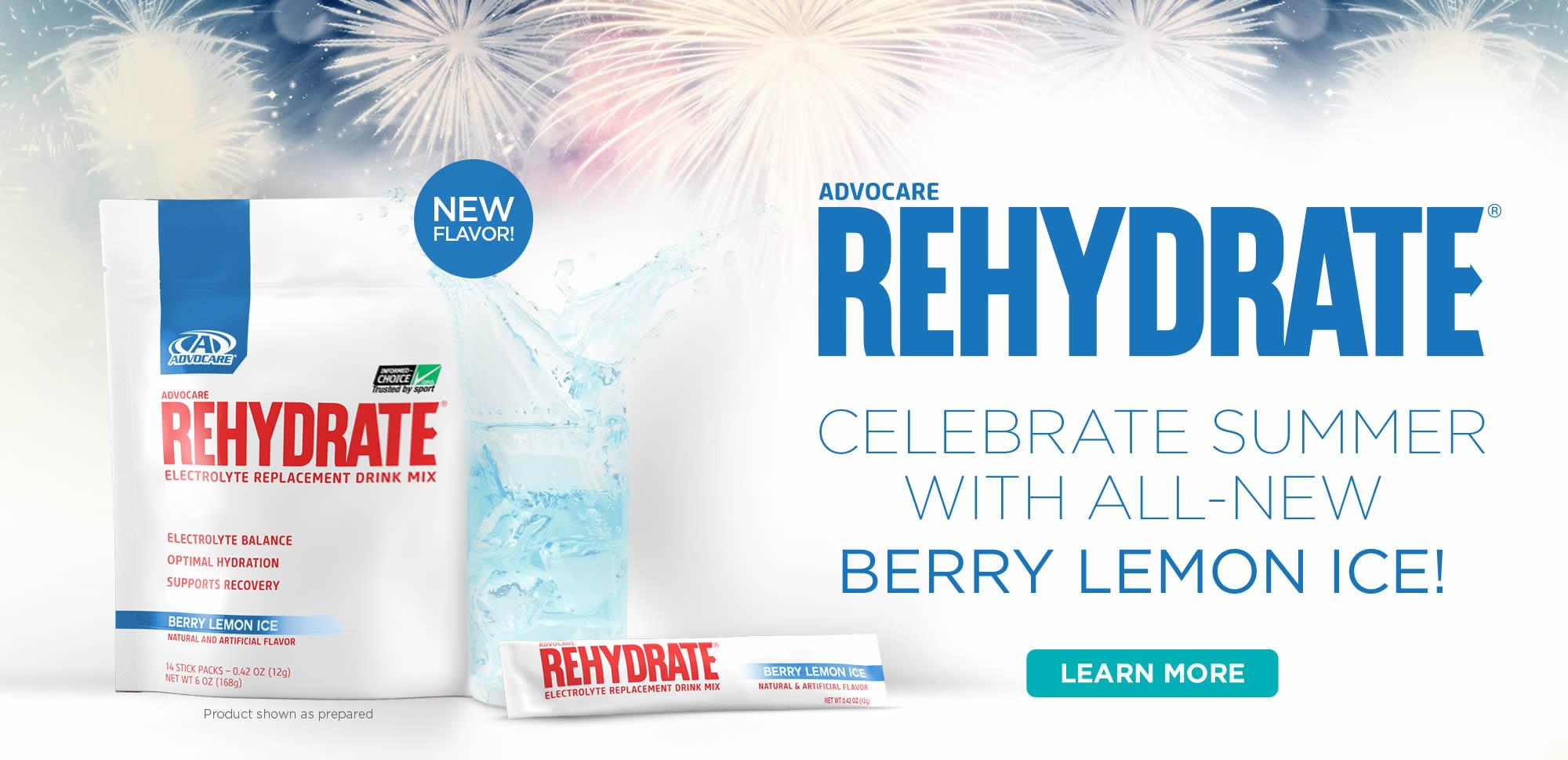 Rehydrate - Berry Lemon Ice