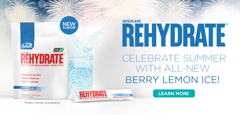 Rehydrate - Berry Lemon Ice