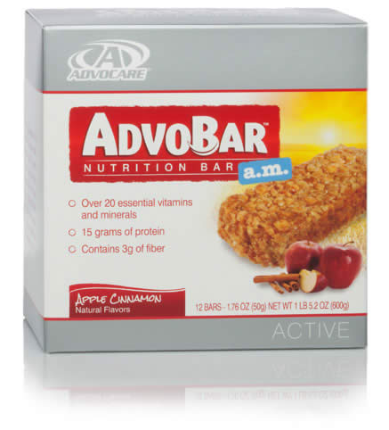 AdvoBar® a.m. Apple Cinnamon