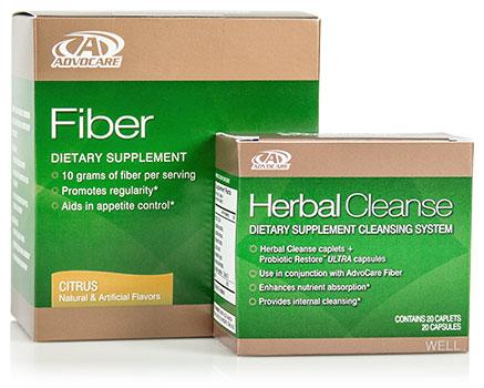 Herbal fiber cleanse